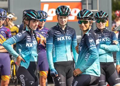 Ilse (19) uit Enter hoopt in de komende jaren de stap naar een ploeg in de WorldTour te maken