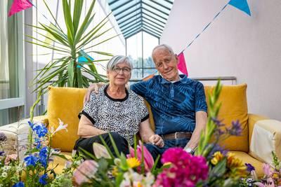 Klaas en Jannie uit Goor hebben na 60 jaar nog altijd hetzelfde ideaal: 'elkaar gelukkig maken'