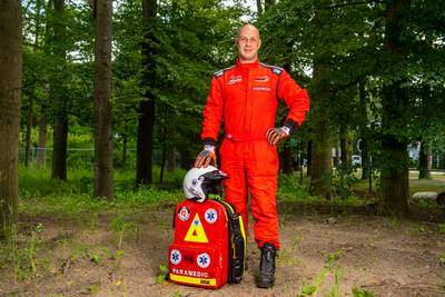 Oud-Tukker komt coureurs overal ter wereld te hulp als elke seconde telt, ook bij de F1 in Zandvoort